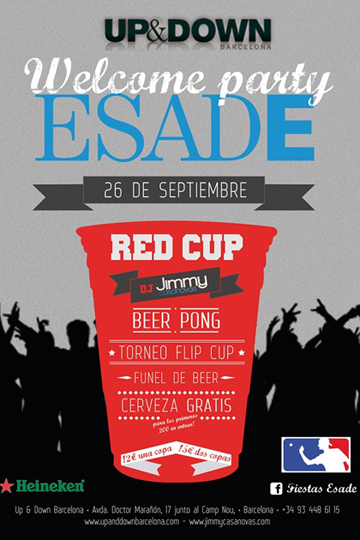ESADE Welcome Party